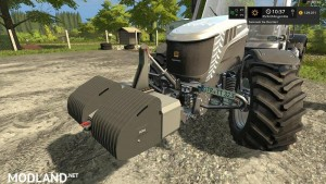 Front Weights Pack v 1.0, 2 photo